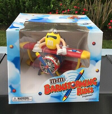 $35.99 • Buy M&M Candy Dispenser Barnstorming Rides Mint In Box With RARE SMITHSONIAN LABEL