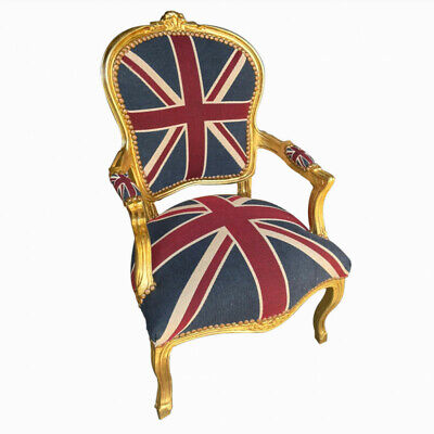 £140 • Buy Union Jack Flag Sofa Chaise Daybed Arm Chair Footstool