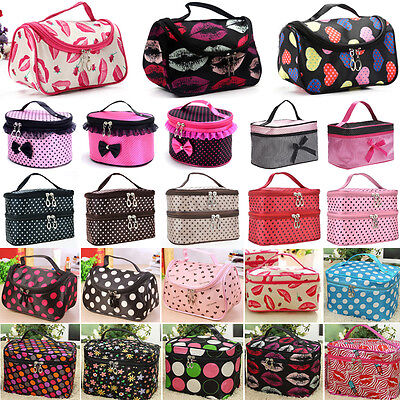 £3.59 • Buy Womens Make Up Bag Cosmetic Case Travel Holiday Toiletry Wash Portable Organizer