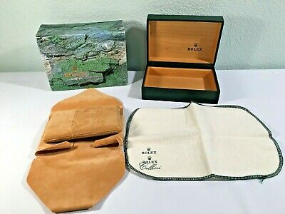 $ CDN81.74 • Buy Rolex Oyster Watch Box W/ Outer Box And Extras - Green - No. 68.00.71 - NICE!