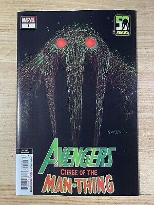 £0.72 • Buy Avengers Curse Of The Man-Thing #1 (2021 Marvel Comics) 2nd Print