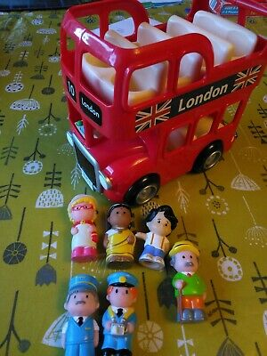 £4.50 • Buy Elc Happyland London Bus & 7 Figures Without Sounds