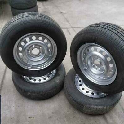 AU350 • Buy Set Of 4x 16  Ford Falcon Stock Wheels And Tyres 215/60r16 Suit AU, BA, BF, FG