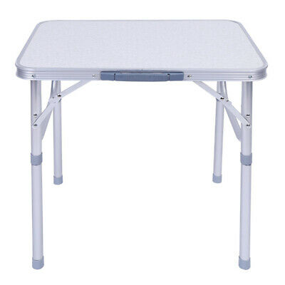 £20.89 • Buy Aluminium Foldable Table Desk Stand Portable Camping Side Tables Outdoor Garden