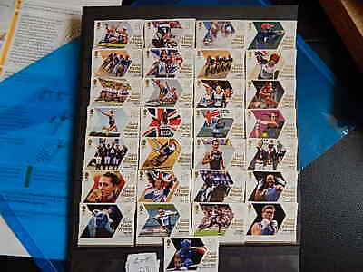 £23 • Buy GB Stamps. Sg3342-3370.British Gold Medal Winners At London Olympic  Lot. 23.