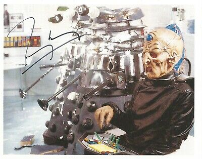£0.99 • Buy  Dr Who Terry Molloy Hand Signed Photo UACC Reg Dealer With COA