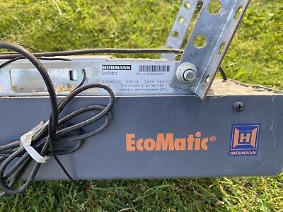 £60 • Buy 2x Hormann EcoMatic Motor, Rail, 2x Remote Controls And Mounting Bracket