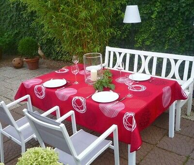 £22.63 • Buy Tablecloth Provence 150x240 CM Red From France Easy-Care And Non-Iron