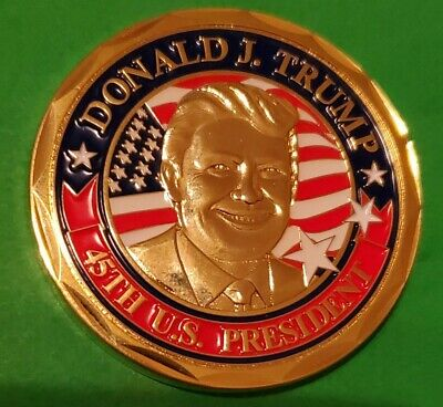 £10.14 • Buy Challenge Coin President Trump 45th