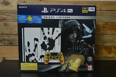 AU1014.65 • Buy Sony PlayStation 4 PS4 Pro Death Stranding Limited Edition Console Bundle - NEW
