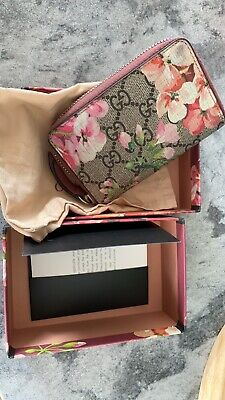 AU350 • Buy Gucci Blooms Card/Coin Case