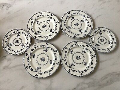 £15 • Buy Royal Doulton China - Yorktown Pattern - Four Side And Two Tea Plates