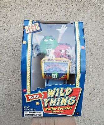 $19.99 • Buy  M&M's  Wild Thing Roller Coaster  Candy Dispenser.