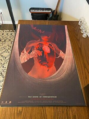 £122.15 • Buy Kevin Tong Bride Of Frankenstein Limited Edition Sold Out Print Mondo