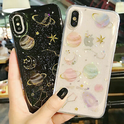 AU4.82 • Buy For IPhone 8 7 Plus XS 12 11 Pro Bling Glitter Girls Women Cute Phone Case Cover