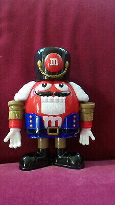 $9.99 • Buy Official Limited Edition Red M&M's Nutcracker Sweet Candy Dispenser With Box