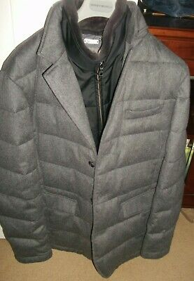£795 • Buy Designer Mens N Peal Pure Cashmere Coat With Fur Collar Size Xxl £2750