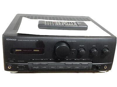 £80 • Buy Kenwood A-65 Stereo Integrated Amplifier Amp HiFi Separate