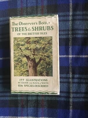 £23.99 • Buy The Observers Book Of Tree