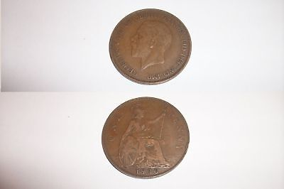£1 • Buy One Penny Coin 1936 George V - 85 Years Old