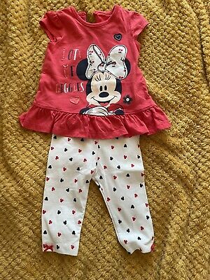 £2 • Buy Minnie Mouse Set Size 3-6 Months