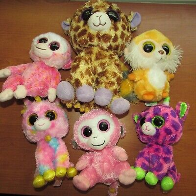 £4.99 • Buy Ty Beanie Boos Bundle Mixed Job Lot Plush Teddy Teddies Soft Toy Collectable