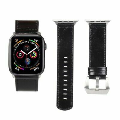 AU22.85 • Buy Strap Bracelet Real Casual Hot Band Leather Fashion For Apple Watch IWatch