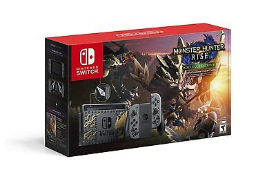 AU176.39 • Buy Nintendo Switch Monster Hunter Rise Deluxe Edition, Model # HADSKGALG / NEW