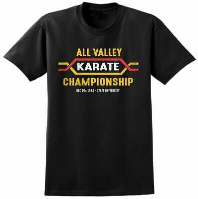 $24.99 • Buy All Valley Karate Kid Inspired Basic Action Tee S-3xl Tshirt Cotton Sleeve 90s