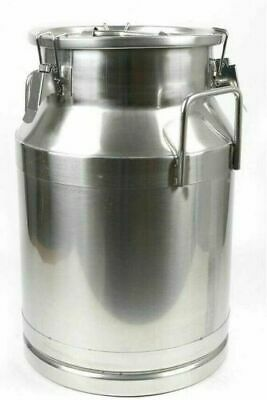 $85.49 • Buy New 30L / 7.95 Milk Cans Pail Bucket Jug Oil Barrel Canister Silicone Seal