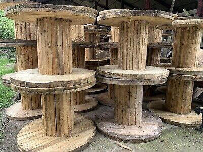 £69.99 • Buy Wooden Cable Reel Drum Table