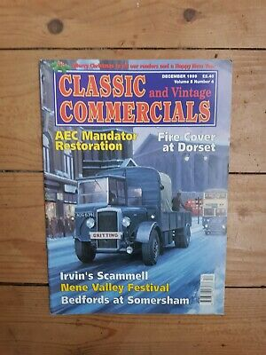 £0.99 • Buy Classic And Vintage Commercials Magazine December 1999 Scammell La Tractor