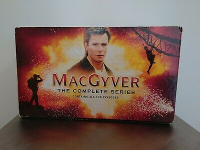 $39.72 • Buy Macgyver Complete Series Dvd Missing 2 Disc's