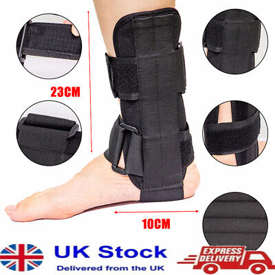 £9.39 • Buy 1X Breathable Foot Drop Orthosis Ankle Brace Support Protection Sprain Splint UK