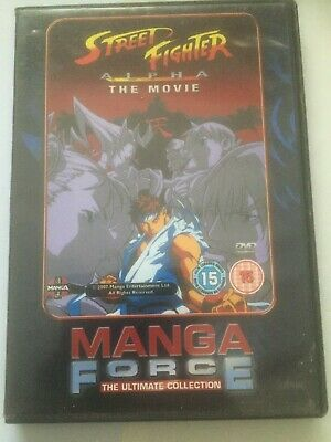£1.99 • Buy Street Fighter Alpha The Movie Manga Force Ultimate Collection Dvd