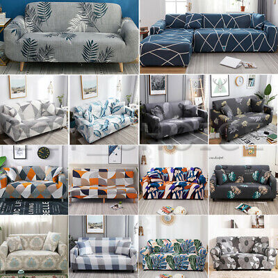 AU25.99 • Buy Sofa Covers 19Color Stretch Lounge Slipcover Protector Couch 1234 Seater L Shape