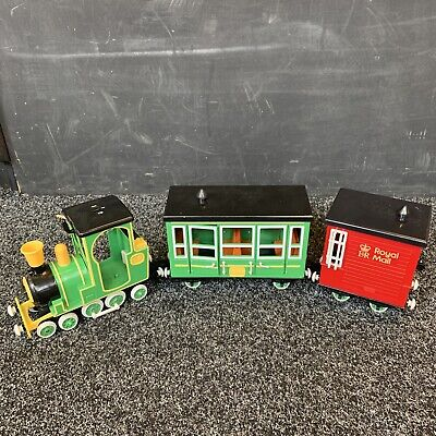 £10 • Buy Postman Pat Toy Friction Greendale Rocket Train With Royal Mail Wagons