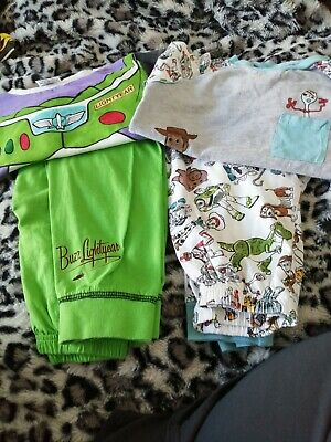 £2.50 • Buy Toy Story Characters Childs Pyjamas Age 4/5 Buzz Lightyear And Woody