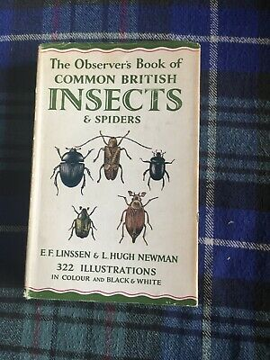 £11.99 • Buy Observers Book Of Insects