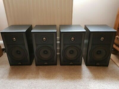 £10 • Buy 4 Black Celestion 3 Mk11 Speakers With 4 Black Compatible Wall Mounting Brackets
