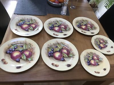 £70 • Buy Aynsley Orchard Gold Plates X7 Signed D Jones