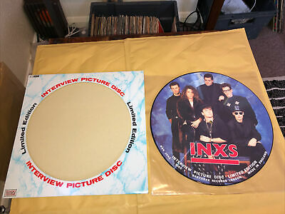 """£5.50 • Buy Inxs - Interview Picture Disc - 12"""" Vgc+"""