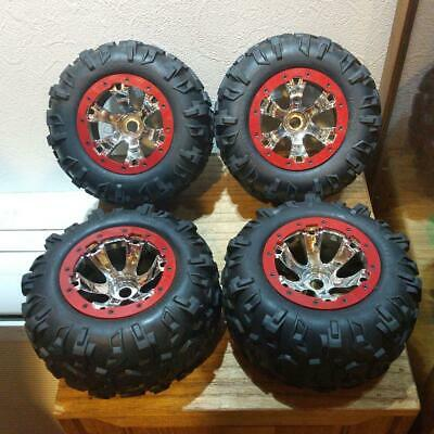 £130.94 • Buy TRAXXAS SUMMIT Savage HPI Wheels With Tires Set Of 4