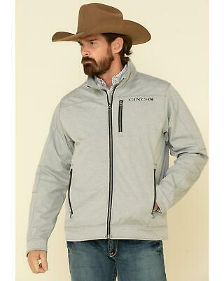 $104.43 • Buy Cinch Men's Grey Solid Textured Bonded Concealed Carry Jacket  Grey Small