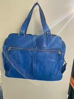 £475 • Buy Mulberry Overnight / Weekend Bag, Stunning Blue, Perfect, Used Twice Unisex