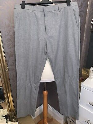 £6 • Buy Taylor & Wright Grey Tailored Trousers Size 36