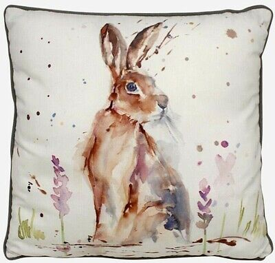 £13.90 • Buy Country Life Hare Cushion With Insert 43cm X 43cm