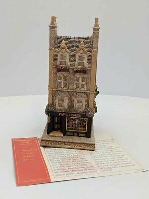 £30 • Buy Lilliput Lane PAWNBROKER The Victorian Shops Collection 1997 L2052  With Deeds