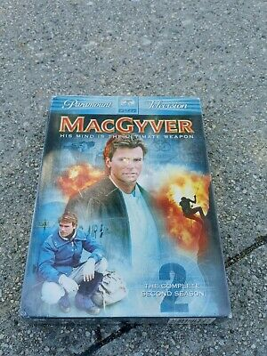 $12.95 • Buy New MacGyver The Complete Second Season (DVD, 2005, 6-Disc Set) Factory Sealed