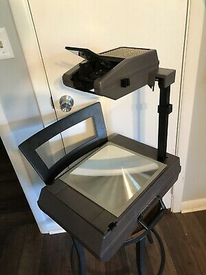 $90 • Buy 3M 2000 AG Compact PortableOverhead Projector Briefcase Model Works!